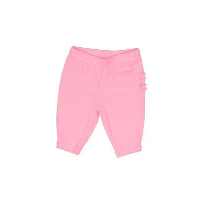 Carter's Capris: Pink Solid Bott...
