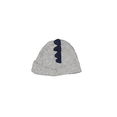 Gerber Beanie Hat: Gray Accessories - Size 0-3 Month