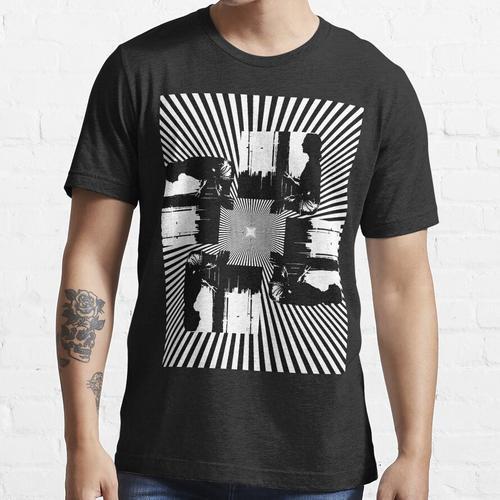 Schwindel In Schwarz Und Weiß Essential T-Shirt