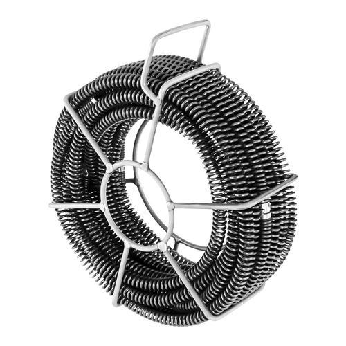 MSW Rohrreinigungsspiralen Set - 6 x 2,45 m - Ø 16 mm MSW-CABLE SET 1