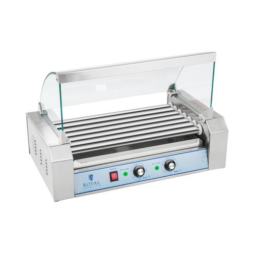 Royal Catering Hot Dog Grill - 7 Rollen - Edelstahl RCHG-7E