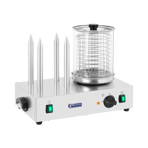 Royal Catering Hot-Dog-Maker - inkl. Toaststangen RCHW-2300