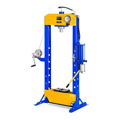 MSW Werkstattpresse hydropneumatisch - 50 t Pressdruck MSW-WP-50T-P