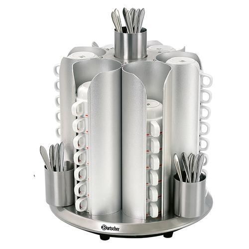 Bartscher Tassenwärmer - für 48 Tassen, CNS 103067