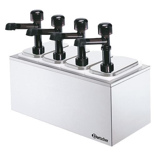 Bartscher Pumpstation - 4 Pumpen 4x 3,3L 100324
