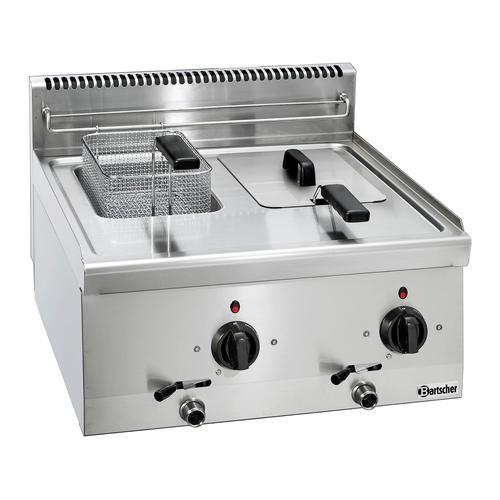 Bartscher Fritteuse 600 - B 600mm - 2x 6 Liter 131413