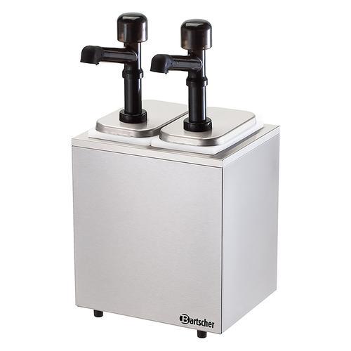 Bartscher Saucenspender - 2 Pumpen - 2x3,3L 100322