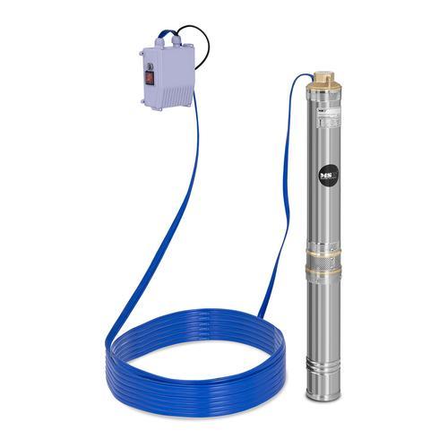 MSW Brunnenpumpe - 6.000 L/h - 750 W - Edelstahl MSW-SPP44-075