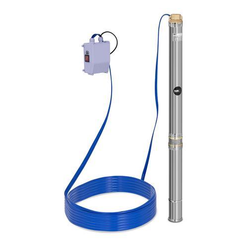 MSW Brunnenpumpe - 3.800 L/h - 550 W - Edelstahl MSW-SPP32-055