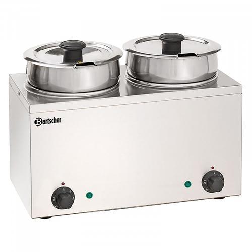 Bartscher Bain Marie Hotpot - 2 x Topf - 3,5 Liter 606035