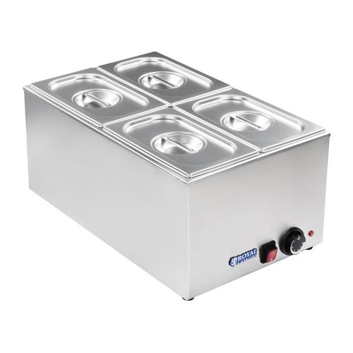 Royal Catering Bain Marie - GN Behälter - 1/4 RCBM-1/4-150-GN