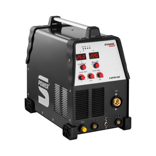 Stamos Power ² Kombi-Schweißgerät - 220 A - WIG - MIG - FCAW - E-Hand S-MTM 220