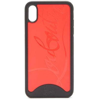 Loubiphone Embossed Pvc Iphone X And Xs Case - Red - Christian Louboutin Cases