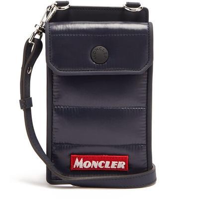 Shoulder Strap Phone Case - Blue - Moncler Cases