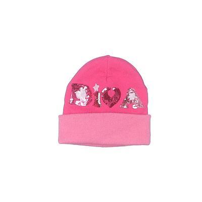 TOBY Beanie Hat: Pink Accessorie...