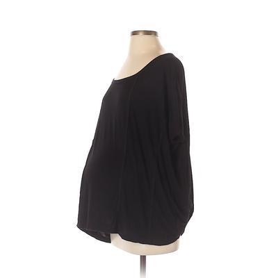 Old Navy Short Sleeve Top Black ...