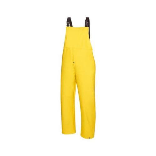 PU-Regenbekleidung Latzhose »KEITUM« Größe L gelb, teXXor