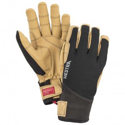 Hestra - Ergo Grip Tactility 5 Finger - Handschuhe Gr 8 schwarz/beige
