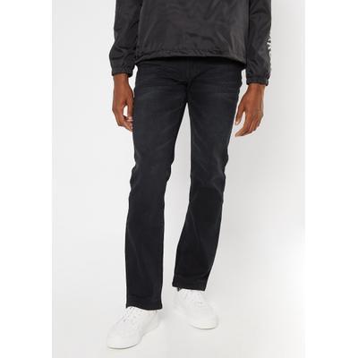 Rue21 Mens Ultra Flex Black Boot Cut Jeans - Size 38X32