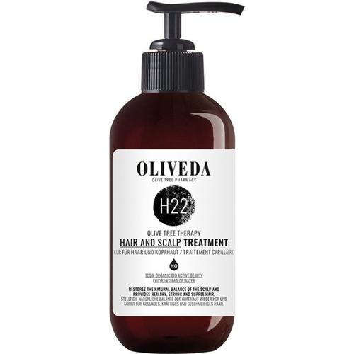 Oliveda H22 Kur für Haar und Kopfhaut - Regenerating 250 ml Haarkur