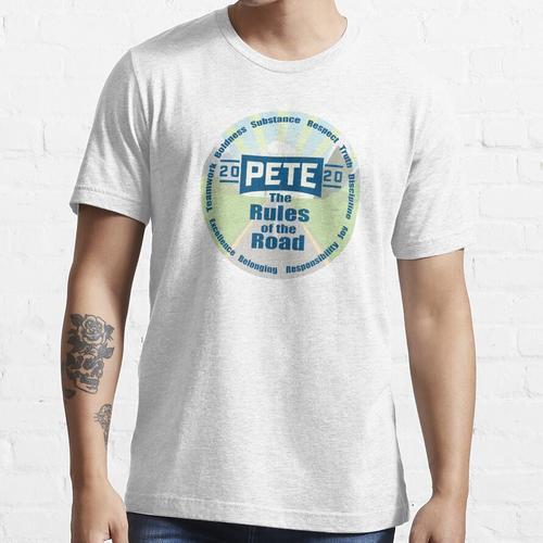 Verkehrsregeln für Pete Buttigieg Essential T-Shirt