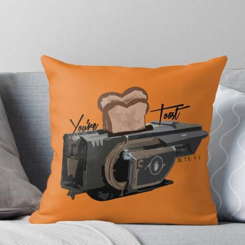 Du bist Toast! (Jotunn) Kissen