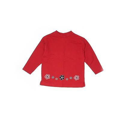 Pocopiano Sweatshirt: Red Tops - Size 110