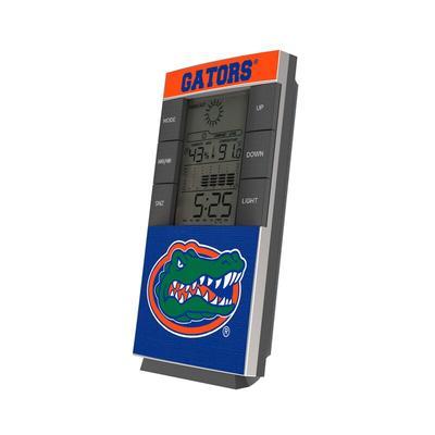 Florida Gators End Zone Digital Desk Clock