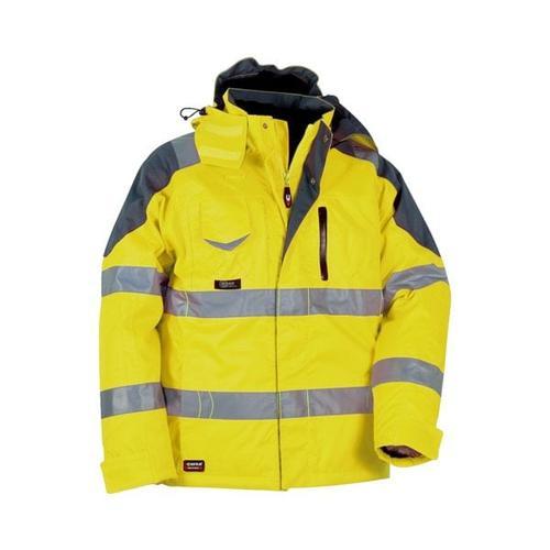 Warnschutz Thermo-Winterjacke »RESCUE« Größe 50 gelb, Cofra