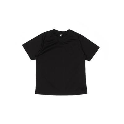 Starter Active T-Shirt: Black Sporting & Activewear - Size 8