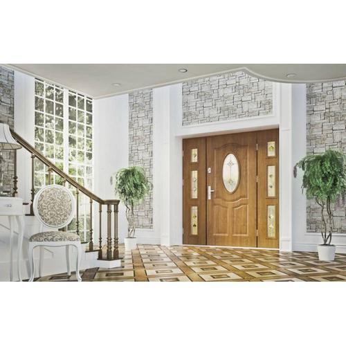 Hauseingangstüren aus Holz