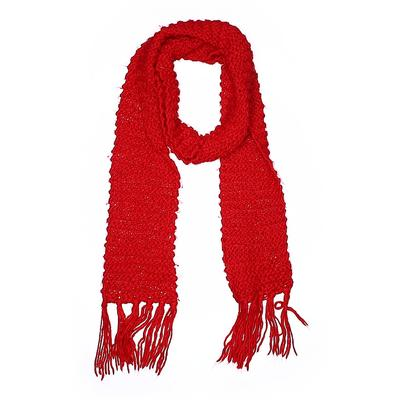 Divided by H&M Scarf: Red Solid ...