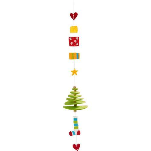 JAKO-O Filzfädelei Weihnachtsbäume, blau