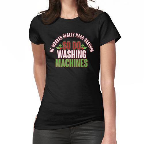 Also Waschmaschinen Frauen T-Shirt
