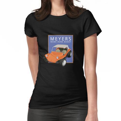Dune Buggy Manx Orange Blue Box Frauen T-Shirt