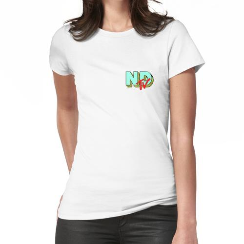 nackter tiefer Fernseher Frauen T-Shirt
