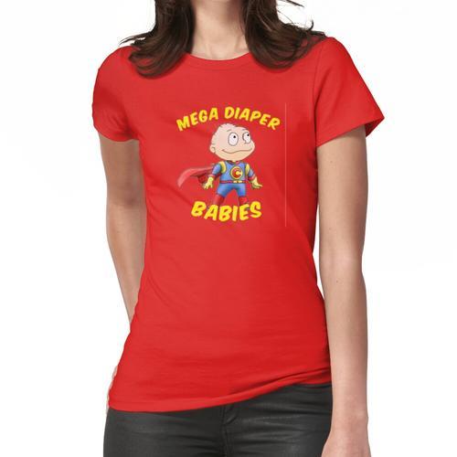 Mega Windel Baby Frauen T-Shirt