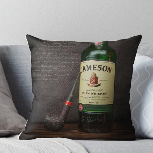 Irische Whisky-Zeit Kissen