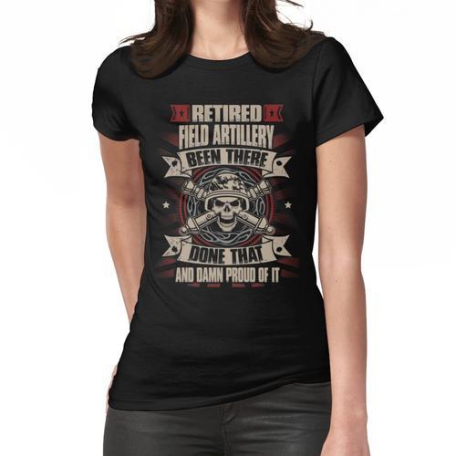 Feld Artillerie Offizier Feld Artillerie Frau Feld Artillerie Bewaffnet Für Frauen T-Shirt