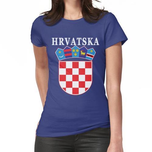 Kroatien Hrvatska Deluxe Nationaltrikot Frauen T-Shirt