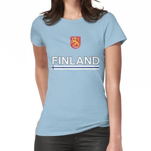 Finnland Nationaltrikot Stil Frauen T-Shirt