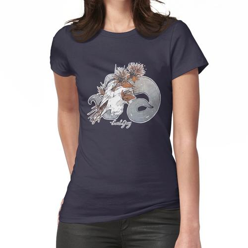 MorbidiTea - Earl Grey mit Ram Skull Frauen T-Shirt