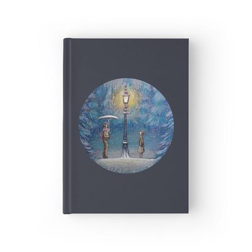 Narnia magische Laterne Notizbuch