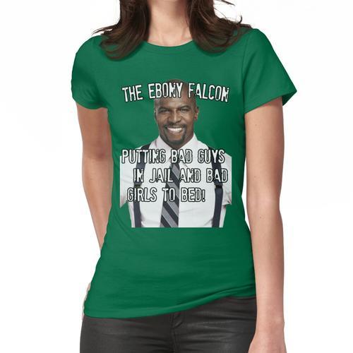Der Ebenholz-Falke Frauen T-Shirt