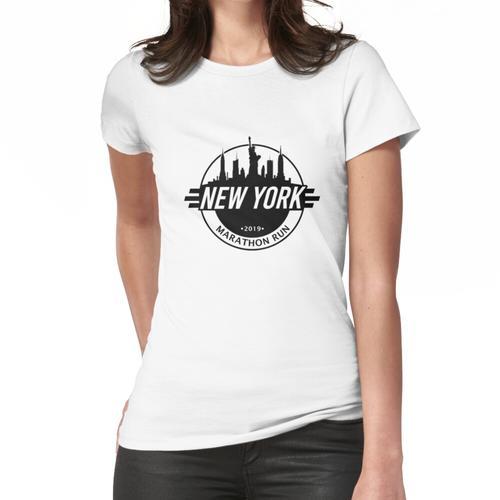 NYC Marathon Run 2019   Marathonläufer Frauen T-Shirt
