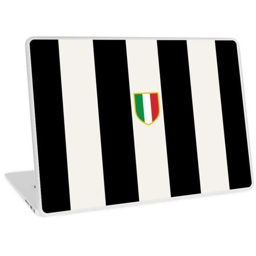 Juventus-Streifen Laptop Skin