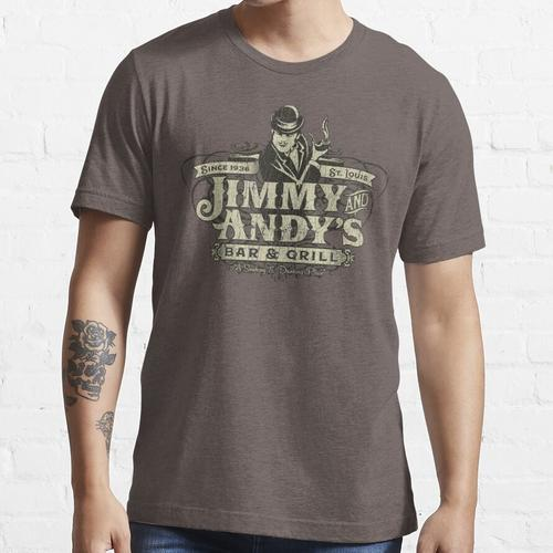 Jimmy und Andys Bar & Grill St. Louis Essential T-Shirt
