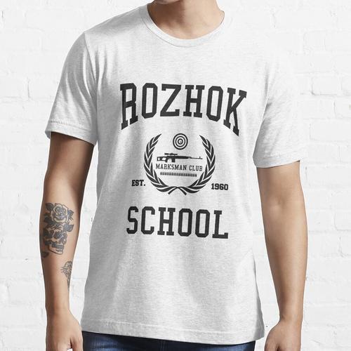 Rozhok Schule Marksman Club PUBG Essential T-Shirt