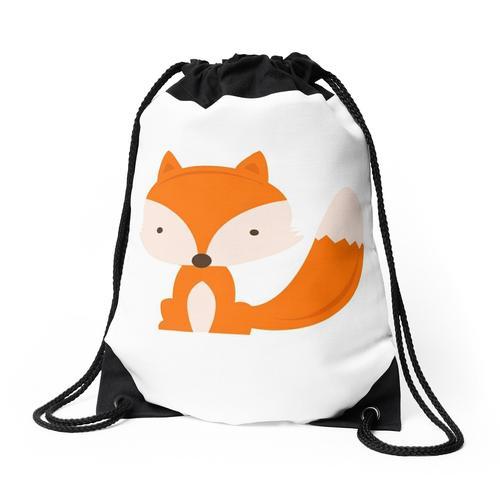 Der Fuchs Rucksackbeutel