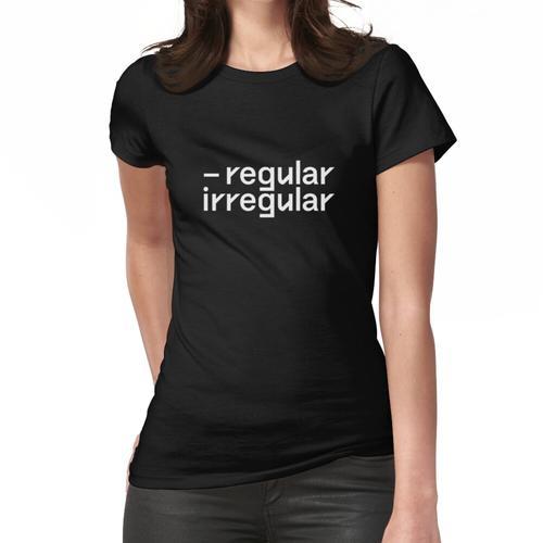 nct regular irregular Frauen T-Shirt